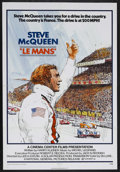"Movie Posters:Action, Le Mans (National General, 1971). One Sheet (27"" X 41""). SportsDrama. Starring Steve McQueen, Siegfried Rauch, Elga Anderse..."