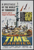 """Movie Posters:Science Fiction, Beyond the Time Barrier (American International, 1959). One Sheet(27"""" X 41"""") and Press Book (Multiple Pages). Science Ficti...(Total: 2 Items)"""