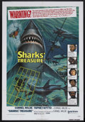 "Movie Posters:Adventure, Sharks' Treasure (United Artists, 1975). One Sheet (27"" X 41"").Adventure. Starring Cornel Wilde, Yaphet Kotto, John Neilson..."
