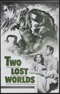 Movie Posters:Science Fiction, Two Lost Worlds (Eagle Lion, 1951). Pressbook (Multiple Pages). Sci-Fi Adventure. Starring Laura Elliot, James Arness, Bill ...