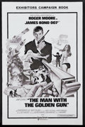Movie Posters:James Bond, The Man With the Golden Gun (United Artists, 1974). Pressbook(Multiple Pages). James Bond Action. Starring Roger Moore, Chr...(Total: 3 Items)