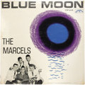 """Music Memorabilia:Recordings, Marcels """"Blue Moon"""" Sealed LP (Colpix 416, 1961). The Marcels had a monster hit with their updated cover of the title track,..."""
