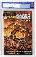 Bronze Age (1970-1979):Miscellaneous, Dagar the Invincible #8 (Gold Key, 1974) CGC NM 9.4 Off-whitepages. Overstreet 2004 NM- 9.2 value = $12. CGC census 2/05: 4...