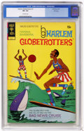 Bronze Age (1970-1979):Cartoon Character, Harlem Globetrotters #1 File Copy (Gold Key, 1972) CGC VF+ 8.5Off-white pages. Overstreet 2004 VF 8.0 value = $27; VF/NM 9....