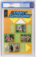 Bronze Age (1970-1979):Miscellaneous, Krofft Supershow #5 (Gold Key, 1978) CGC NM 9.4 White pages.Overstreet 2004 NM- 9.2 value = $18. CGC census 2/05: 1 in 9.4,...