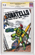 Modern Age (1980-Present):Humor, Donatello, Teenage Mutant Ninja Turtle #1 Signature Series (MirageStudios, 1986) CGC NM/MT 9.8 White pages. Kevin Eastman a...