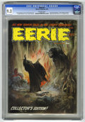 Magazines:Horror, Eerie #2 (Warren, 1966) CGC NM- 9.2 Off-white pages. First magazine issue. First appearance of host Cousin Eerie. Frank Fraz...