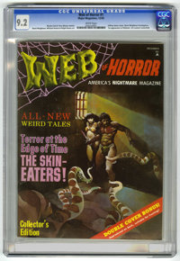 Web of Horror #1 (Major Magazines, 1969) CGC NM- 9.2 White pages. Jeff Jones cover. Bernie Wrightson, Mike Kaluta, and R...