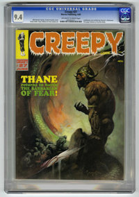 Creepy #27 (Warren, 1969) CGC NM 9.4 Off-white to white pages. Frank Frazetta cover. Steve Ditko, Reed Crandall, Tom Sut...