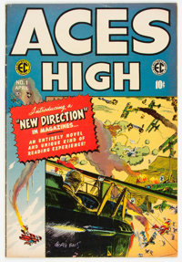 Aces High #1 IRS Collection (EC, 1955) Condition: FN