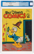 Golden Age (1938-1955):Cartoon Character, Walt Disney's Comics and Stories #56 (Dell, 1945) CGC NM- 9.2 Off-white pages....