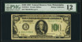 Small Size:Federal Reserve Notes, Fr. 2150-C $100 1928 Federal Reserve Note. PMG Fine 12.. ...