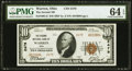 Warren, OH - $10 1929 Ty. 2 The Second National Bank Ch. # 2479 PMG Choice Uncirculated 64 EPQ