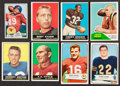 Football Cards:Lots, 1951 to 1961 Topps and Bowman Football Collection (18). ...