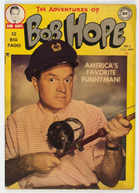 The Adventures of Bob Hope #3 (DC, 1950) Condition: FN