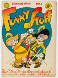 Golden Age (1938-1955):Humor, Funny Stuff #1 (DC, 1944) Condition: FN+....
