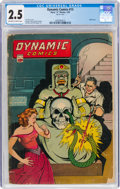 Golden Age (1938-1955):Adventure, Dynamic Comics #13 (Chesler, 1945) CGC GD+ 2.5 Off-white to white pages....
