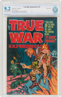 True War Experiences #3 File Copy (Harvey, 1952) CBCS NM- 9.2 Cream to off-white pages