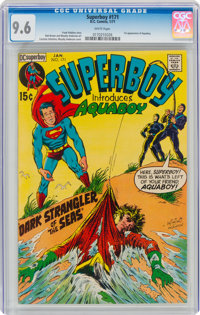 Superboy #171 (DC, 1971) CGC NM+ 9.6 White pages