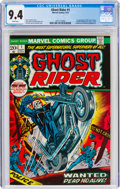 Bronze Age (1970-1979):Superhero, Ghost Rider #1 (Marvel, 1973) CGC NM 9.4 White pages....