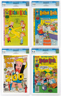 Bronze Age (1970-1979):Humor, Richie Rich CGC-Graded File Copies Group of 4 (Harvey, 1978-82) CGC NM/MT 9.8 White pages.... (Total: 4 )