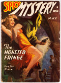 Pulps:Horror, Spicy Mystery Stories - May 1941 (Culture) Condition: VG/FN....