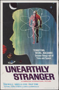 "Movie Posters:Science Fiction, Unearthly Stranger (American International, 1963). Folded, Fine+. One Sheet (27"" X 41""). Science Fiction.. ..."