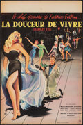 """Movie Posters:Foreign, La Dolce Vita (Pathé Consortium, 1960). Folded, Fine/Very Fine. French Petite (15.5"""" X 23.5""""). Yves Thos Artwork. Foreign.. ..."""
