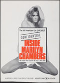 """Movie Posters:Adult, Inside Marilyn Chambers (Mitchell Brothers Film Group, 1975). Folded, Fine+. Trimmed One Sheet (27"""" X 37.5""""). Adult.. ..."""