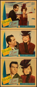 """Movie Posters:Comedy, The Lady is Willing (Columbia, 1942). Very Fine-. Lobby Cards (3) (11"""" X 14""""). Comedy.. ... (Total: 3 Items)"""