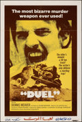 """Movie Posters:Action, Duel (Universal, 1972). Folded, Fine-. International One Sheet (27"""" X 41""""). Action.. ..."""