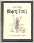 """Memorabilia:Miscellaneous, Walt Disney's """"Sleeping Beauty"""" Sketch Book Series, Limited Edition #2382/2500 (Applewood Books, 1997) This handsome volume ..."""