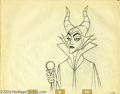 "Original Comic Art:Miscellaneous, Walt Disney Studios - ""Sleeping Beauty,"" Maleficent PencilAnimation Drawing Original Art (Walt Disney, 1959). PrincessAuro..."