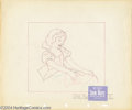 "Animation Art:Miscellaneous, Walt Disney Studios -- ""Snow White and the Seven Dwarfs"" OriginalPencil Layout Drawing. (1937). This fine finished drawing ..."