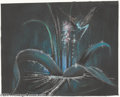 "Animation Art:Miscellaneous, Walt Disney Studios -- ""Fantasia"" Original Story Board Sketch.(1940). The Frost Fairy touches a forest plant with her wand ..."