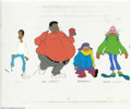 "Animation Art:Miscellaneous, Filmation Studios - ""Fat Albert"" Original Hand Painted Color ModelCel. (1972). Hey, hey, hey! This rare hand painted cel sh..."