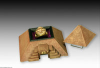 """Carl Barks - Unique """"The Mummy's Ring"""" Prototype (Bowen Design, 1995). This """"Sign of the Serpents"""" g..."""