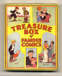 Treasure Box of Famous Comics - Five Comic Set (Cupples & Leon, 1934). This boxed set of five softcover Platinum Age...