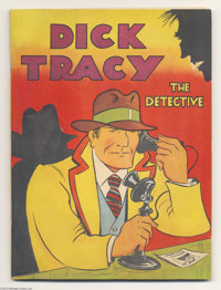 Feature Books #nn (#1) Dick Tracy (David McKay, 1937) Condition: Apparent VF/NM. This historic issue, the first all-Dick...