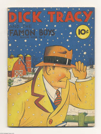 Feature Books #9 Dick Tracy and the Famon Boys - Mile High pedigree (David McKay, 1938) Condition: VF+. The cover colors...