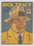 Memorabilia:Comic-Related, Large Feature Comic #8 Dick Tracy - The Racket Buster (Dell, 1939) Condition: VF. This poster-worthy cover of America's favo...