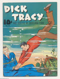 Memorabilia:Comic-Related, Large Feature Comic #13 Dick Tracy and Scottie of Scotland Yard - Mile High pedigree (Dell, 1939) Condition: VF. It's hard t...