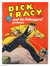 Large Feature Comic #15 Dick Tracy and the Kidnapped Princes - Mile High pedigree (Dell, 1941) Condition: VF/NM. Red is...