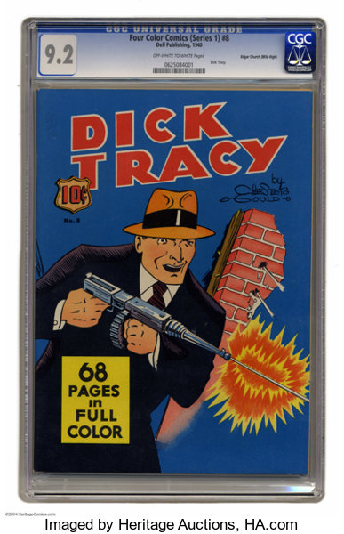 Four Color (Series One) Dick Tracy - Mile High pedigree #8