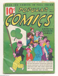 Memorabilia:Comic-Related, Popular Comics #3 Dick Tracy and Others (Dell, 1936) Condition: GD/VG. Saints be praised! 'Tis a St.Patrick's Day cover. D...