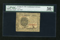 Colonial Notes:Continental Congress Issues, Continental Currency May 9, 1776 $7 PMG About Uncirculated 50 EPQ....