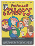 "Memorabilia:Comic-Related, Popular Comics #5 Dick Tracy and Others (Dell, 1936) Condition: VG-. Dick Tracy is one of ""over 100 comics in full color"" in..."