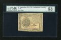 Colonial Notes:Continental Congress Issues, Continental Currency September 26, 1778 $7 PMG About Uncirculated53....
