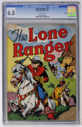 Golden Age (1938-1955):Western, Lone Ranger #1 File Copy (Dell, 1948) CGC FN+ 6.5 Off-white pages....