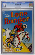 Golden Age (1938-1955):Western, Lone Ranger #4 File Copy (Dell, 1948) CGC VF+ 8.5 Off-white to white pages....